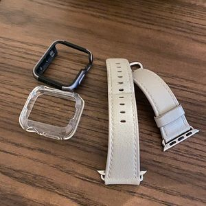 Apple Watch Series 2 watch band and Bumper 38 mm